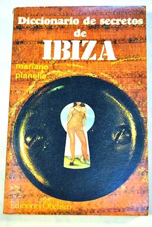 Portada (de la segunda edición) del Diccionario de Secretos de Ibiza