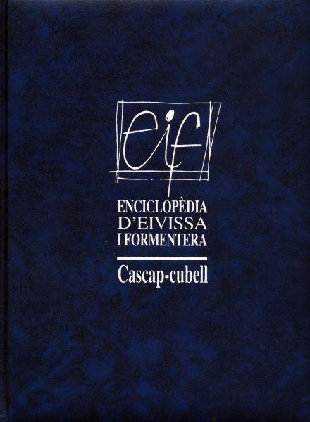 Portada de uno de los volúmenes de la Enciclopedia d'Eivissa i Formentera