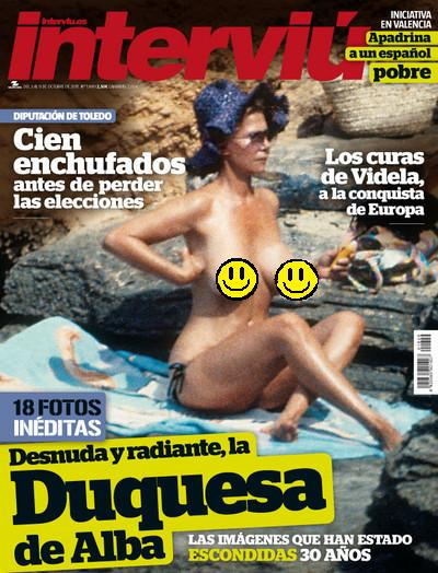 La Duquesa De Alba En Ibiza Ibizaislaes