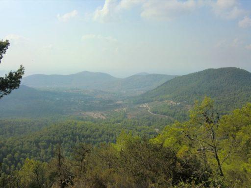 montañas de ibiza