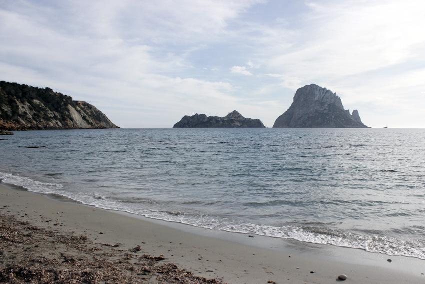 Cala d'Hort playa ibiza