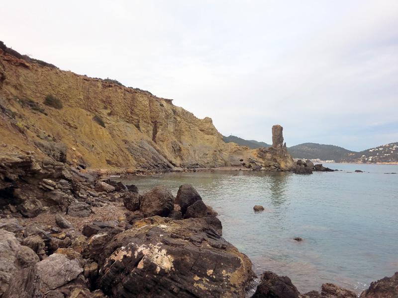 Es Paller des Camp, uno de los atractivos de la playa de Es Figueral