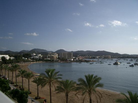 S'Arenal, San Antonio beach at Ibiza