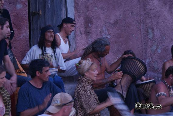 benirras Ibiza fiesta de los tambores