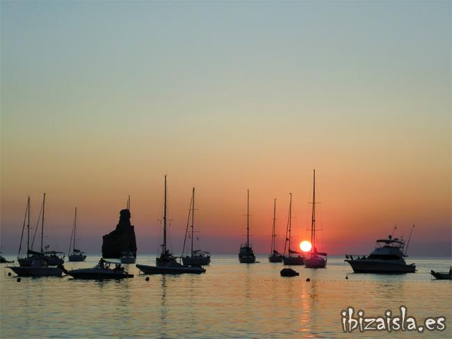 puesta de sol benirras