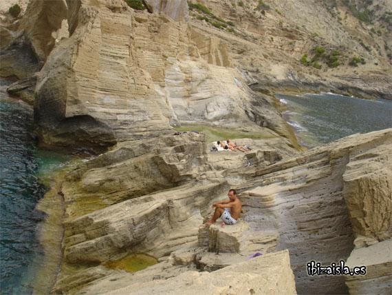 Cala Atlantis en Ibiza