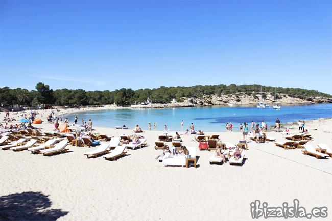 cala bassa playa ibiza