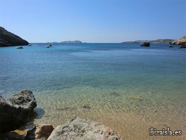 playa de Cala Molí, Ibiza