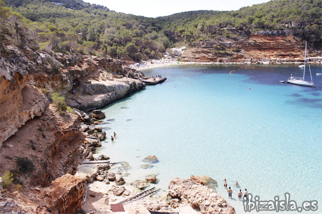 cala saladeta playa de Ibiza