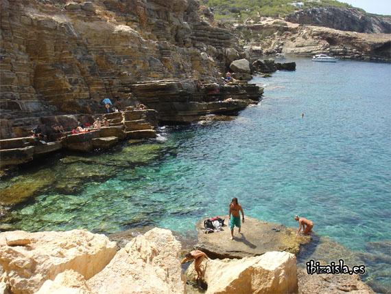 punta galera cala nudista en Ibiza