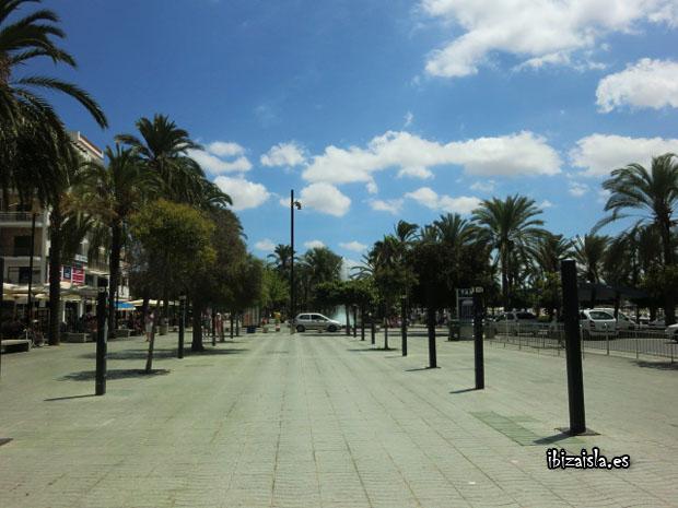 San Antonio Ibiza passeig de ses fonts