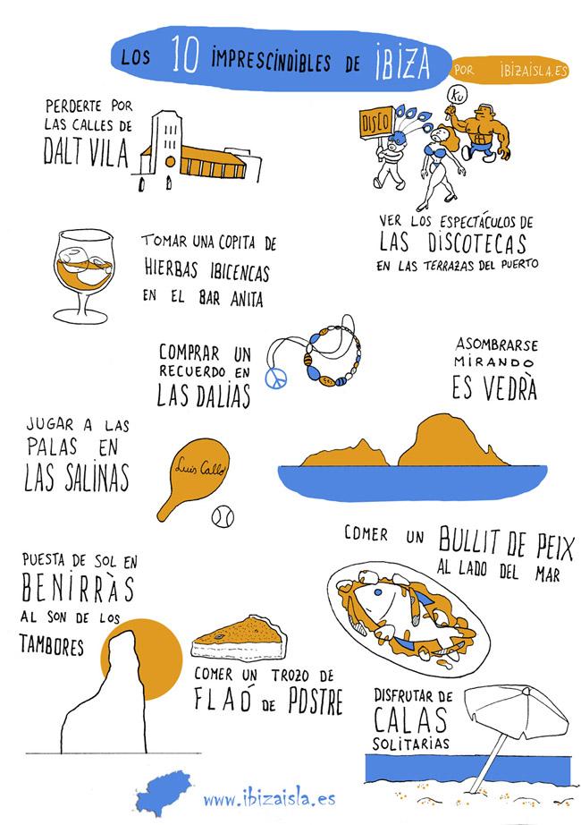 los imprescindibles de Ibiza
