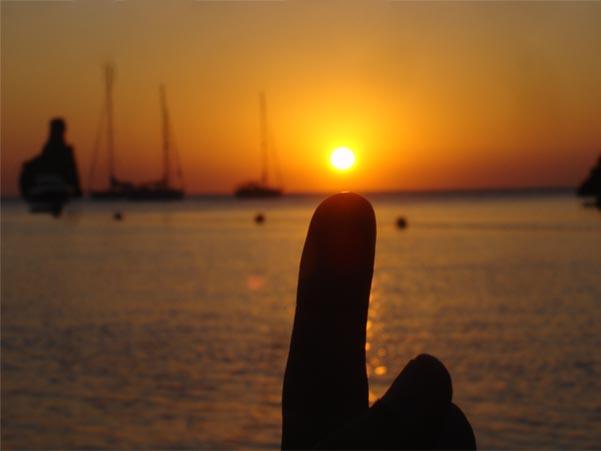 benirràs puesta sol
