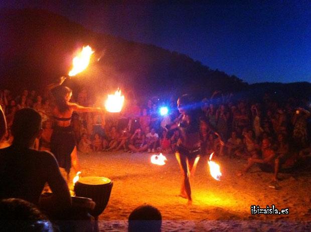 Fiesta hippie en Ibiza