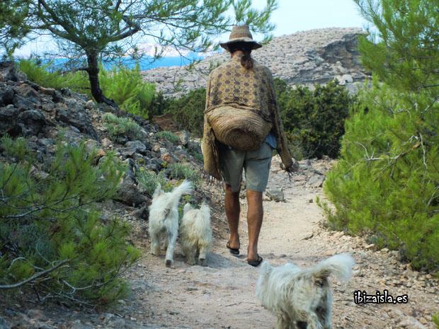 Hippie en Ibiza