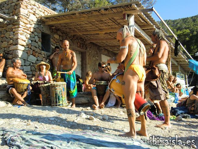 fiesta de los tambores Ibiza