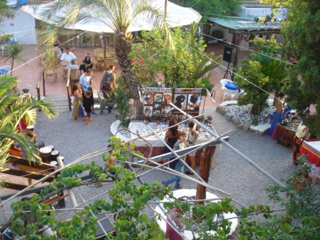 Mercadillo de Las Dalias, Ibiza