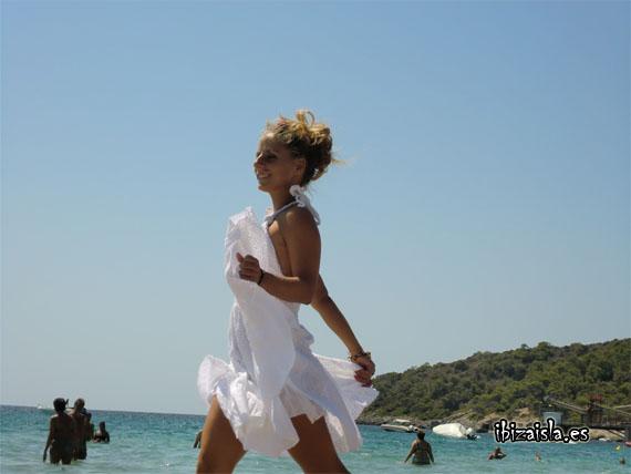 vestido blanco ibiza