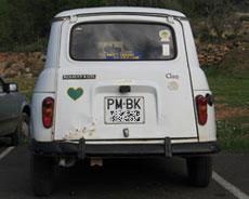 Renault 4 L, cuatro latas en Ibiza