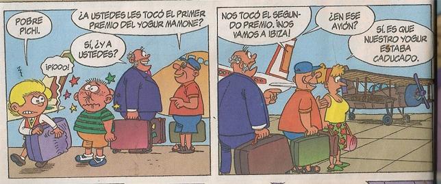 Zipi y Zape hacia Ibiza