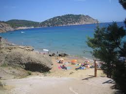 Aigües Blanques playa nudista en Ibiza