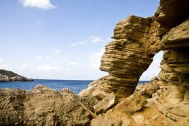 Punta Galera playa nudista en Ibiza