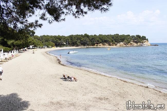 playa Niu Blau en Ibiza