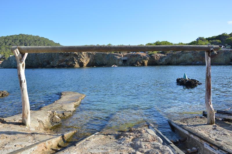 Los varaderos son uno de los mejores lugares donde tumbarse en Pou des Lleó