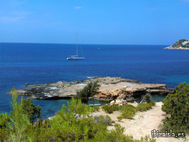 S'illot d'es renclí en Ibiza