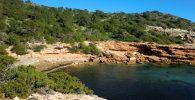 Cala Llarga es una de las calas secretas de Ibiza