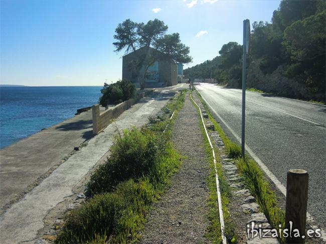 vías de tren en Ibiza