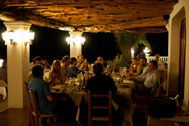 Ca's Milà restaurante en Ibiza Cala Tarida