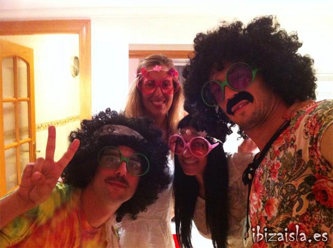 disfraces hippie