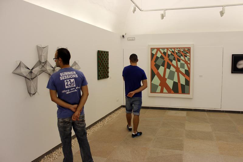 El MACE se abre al público de Ibiza para mostrar obras de arte contemporáneo.