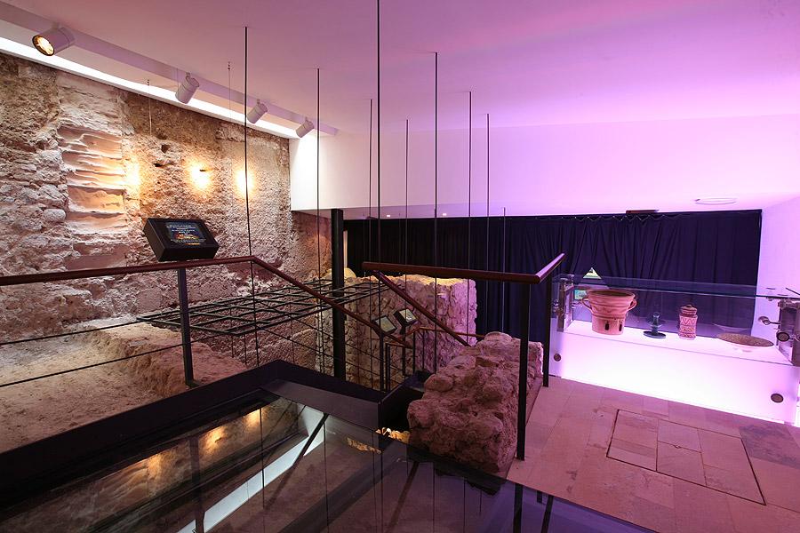 El centro de Interpretación Madina Yabisa permite, en un divertido recorrido, entender las claves de Dalt Vila.