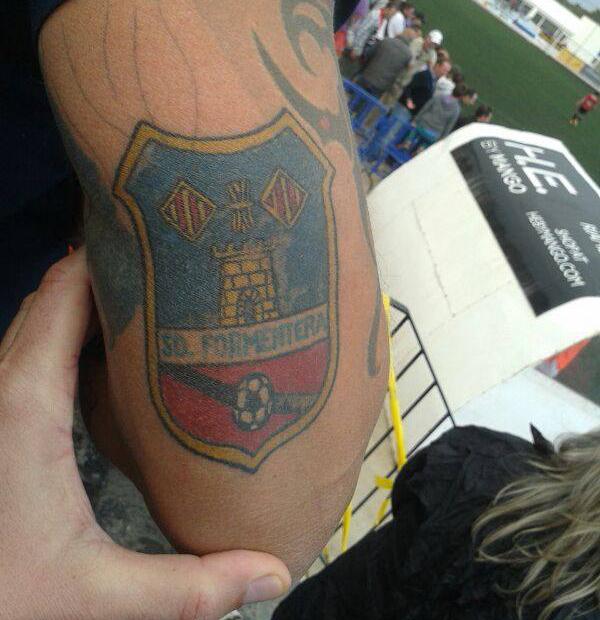 tatuaje del equipo de futbol de Formentera