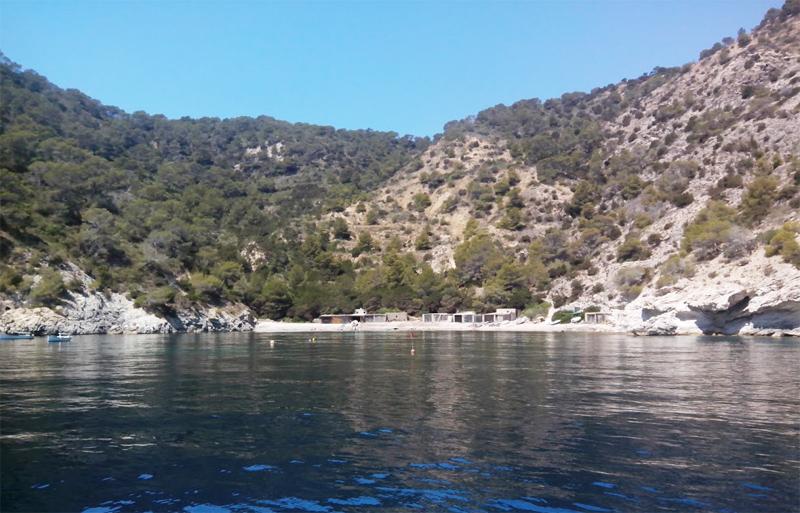 Playa de Cala Llentrisca Ibiza