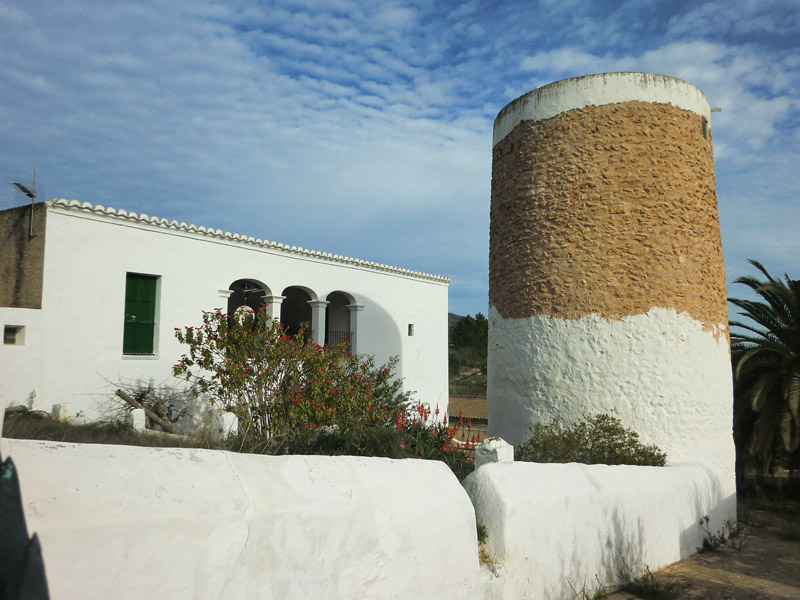 Torre predial en la finca de Can Pere Musson (Balàfia)