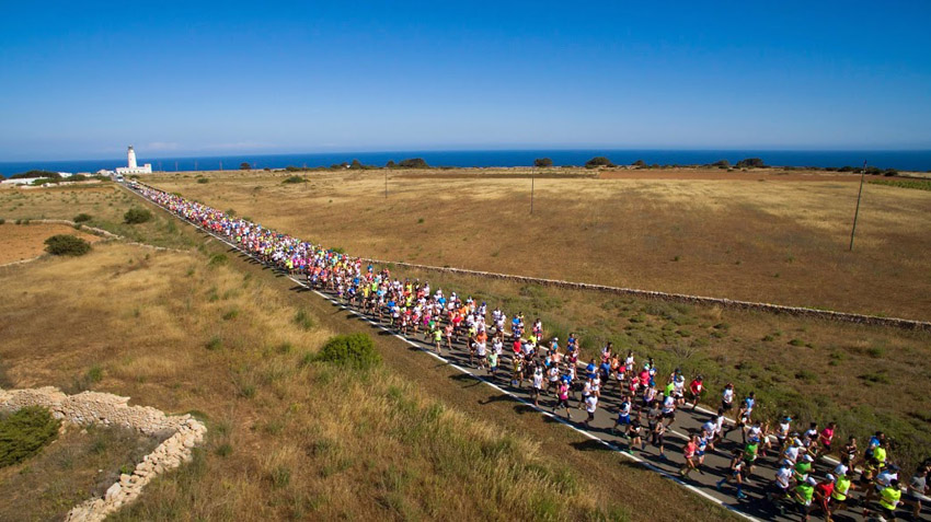Espectacular panorámica de la salida de la Media Maratón. Foto: Unisport Consulting