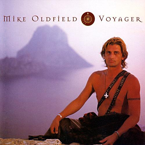 La portada del disco Voyager, de Mike Oldfield.