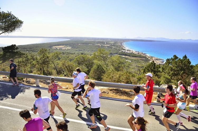 Corriendo y disfrutando de vistas espectaculares. Foto: Unisport Consulting