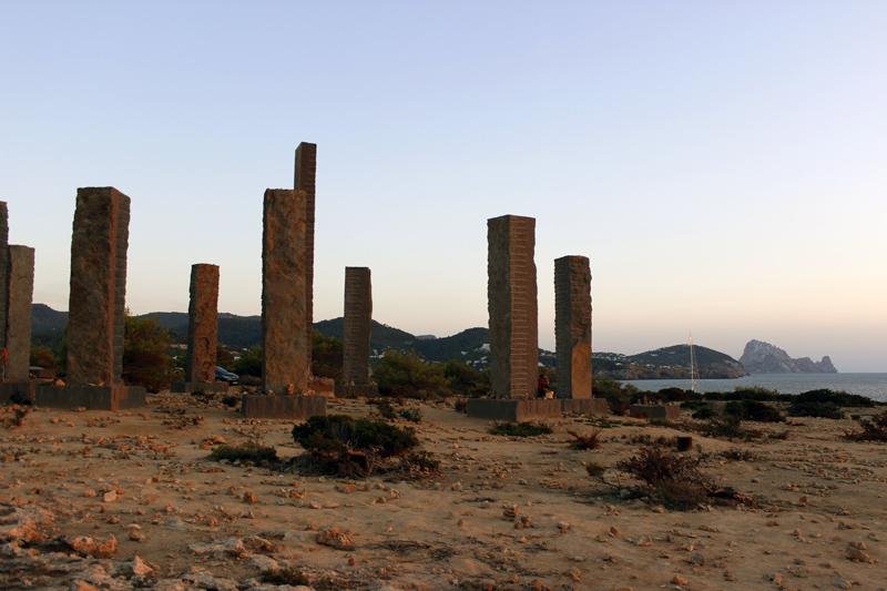 monument andrew rodgers ibiza