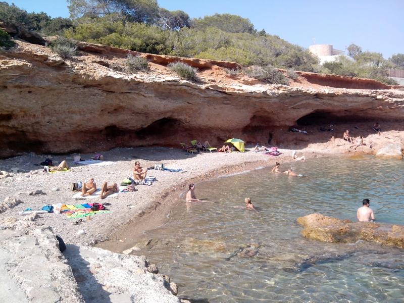 Panorámica de la Playa de Can Toni Fita