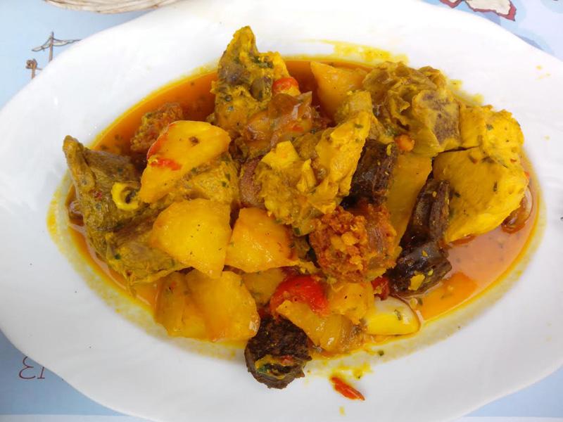 Un delicioso plato de sofrit pagès.