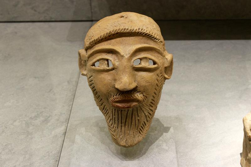 Una máscara funeraria, uno de los elementos que se pueden encontrar en el museo.