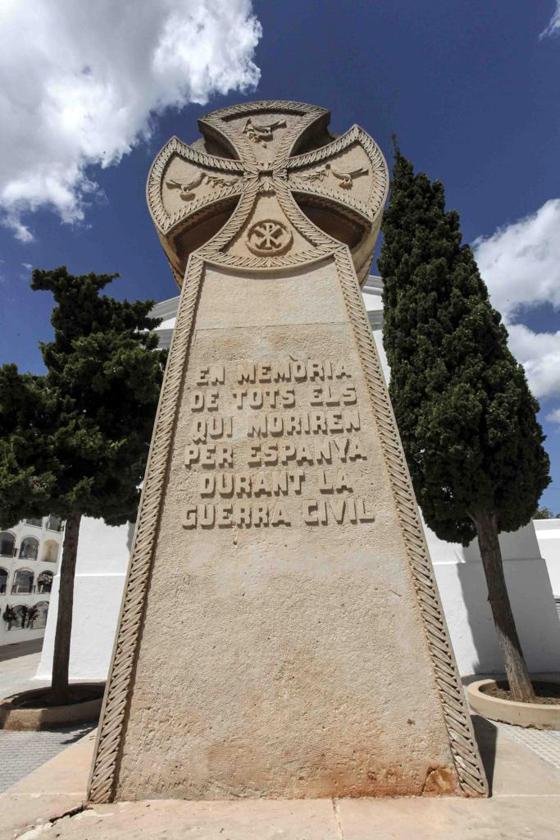 El monumento a la memoria de los republicanos. Foto: Daniel Espinosa (Periódico de Ibiza)
