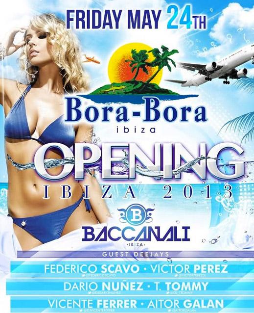 Cartel de Bora-Bora Ibiza