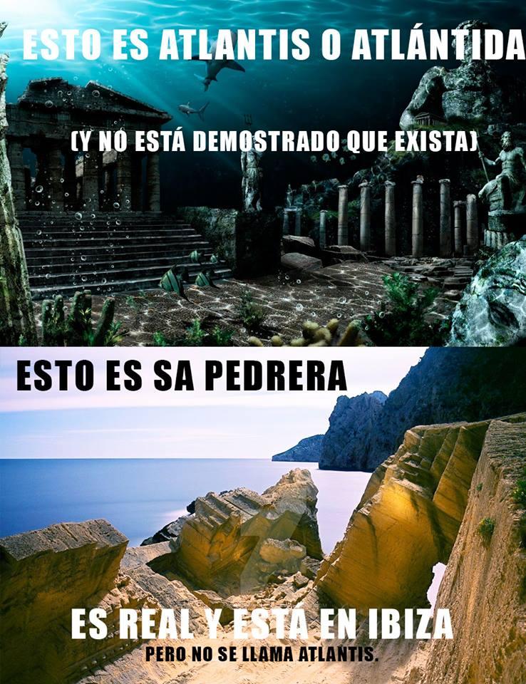 La diferencia entre Atlantis y Sa Pedrera, clara como el agua Fuente: Joaquin Requejo