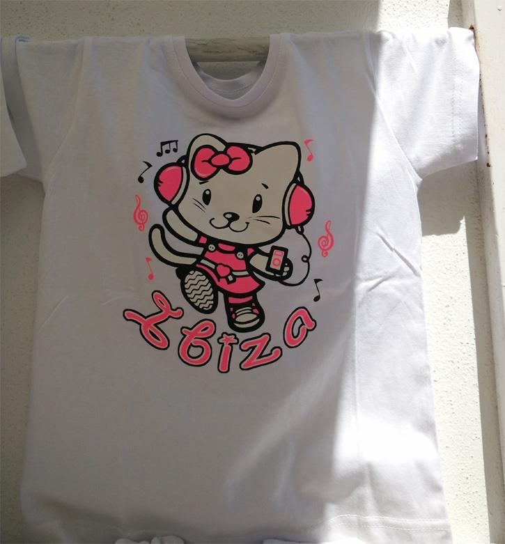 Camiseta con estampado precioso