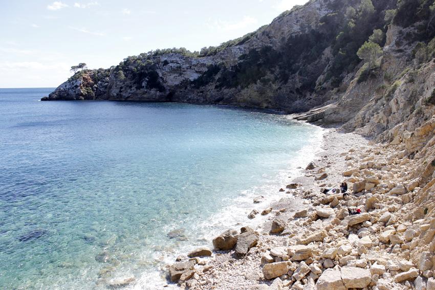 cala blanca Ibiza